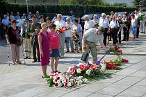 V havířovských Životicích si lidé připomněli památku nacisty zavražděných obyvatel ze 6. srpna roku 1944.