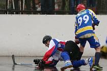 Karvinští hokejbalisté zakončili základní část.