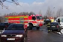Kontrola průjezdnosti ulicemi sídliště V. etapa v Orlové.