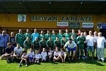 Slovan Záblatí - vítězové okresního přeboru 2017/18.