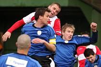 Orlovští fotbalisté prohráli v Mikulovicích.
