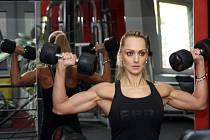 Šampionka v bikini fitness Nikol Raszyková z Havířova.