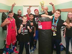 Výprava boxerů si z Polska odvezla hlavní cenu.