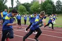 Stadion ZŠ M. Kudeříkové patřil žákům základních škol. Bojovali zde v rámci projektu Odznak všestrannosti olympijských vítězů, a to o postup na krajské a republikové finále.