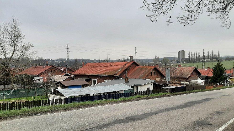 Petřvald. Kolonie Pod Tratí.