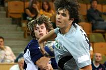 Slovenský reprezentant umí míč schovat a v pravou chvíli jej vypustit z ruky.