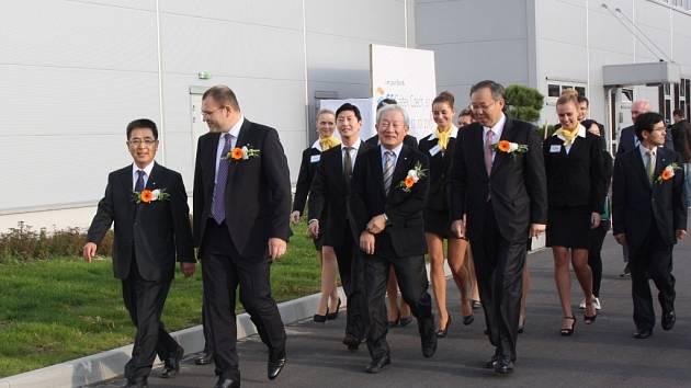 V karvinské průmyslové zóně byl zahájen provoz korejské petrochemické firmy GS Caltex.
