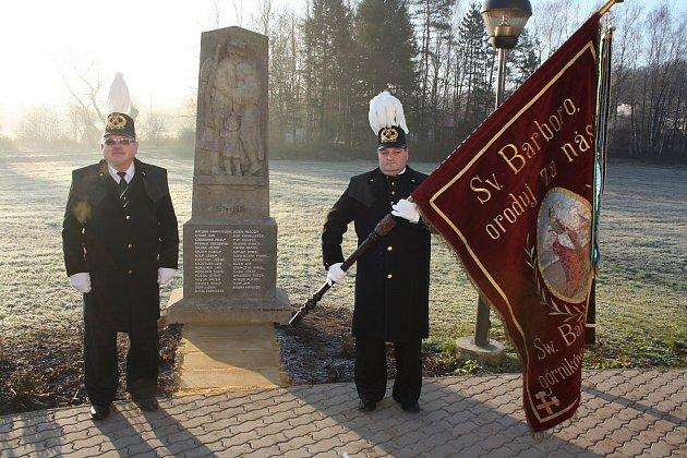 Pomník obětem 1.světové války vKarviné-Loukách.
