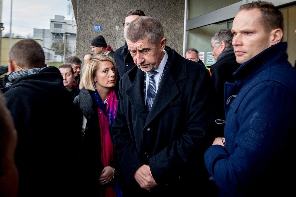 Premiér Andrej Babiš navštívil 21. prosince 2018 Důl ČSM na Karvinsku, kde předešlého dne při výbuchu metanu zahynulo třináct horníků, z toho dvanáct Poláků.