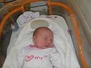 Terezie Polášková se narodila 3. května paní Michaele Poláškové z Karviné. Po porodu miminko vážilo 2940 g a měřilo 49 cm.