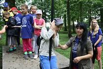 Děti s autismem a jejich sourozenci se účastnily příměstského tábora spolku Adam.