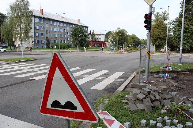 Oprava ulice 17. listopadu v Havířově a přilehlých křižovatek.