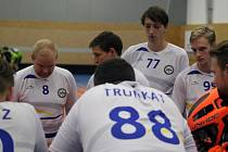 Z výhry ve florbalové sérii o udržení se mohl radovat Slovan Havířov.