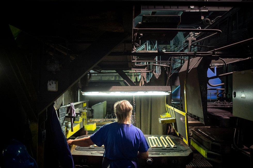 Výroba kotlů Viadrus, 5. zaří 2019 v Bohumíně.