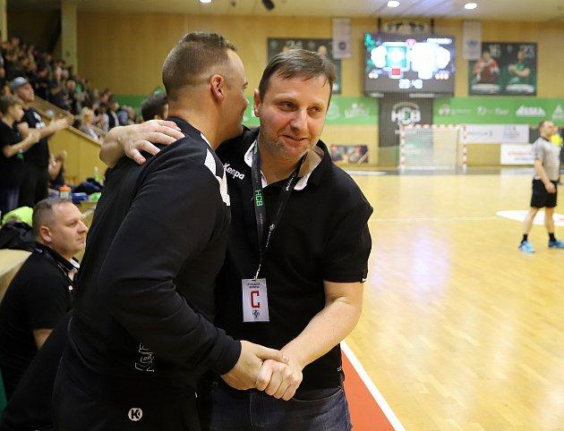 Marek Michalisko (vpravo) přiznává, že výhledově by chtěl Baník působit vEvropské lize.
