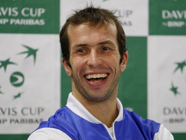 Radek Štěpánek - daviscupový reprezentant Česka.