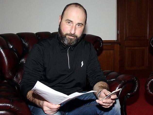Jednatel společnosti Zámek Havířov David Ondráček.