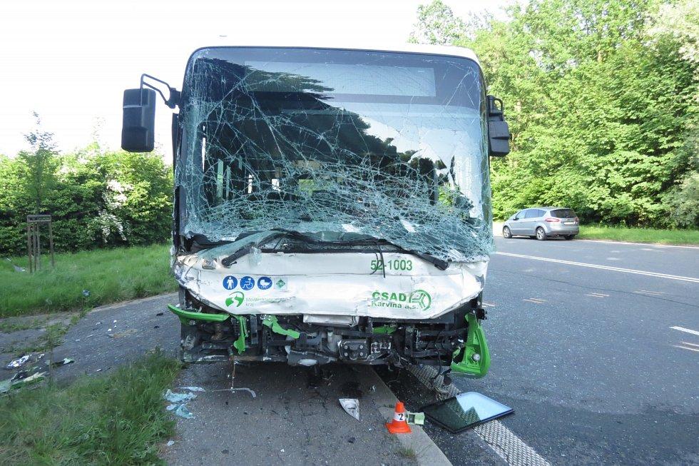 Tragická nehoda v Karviné-Dolech.