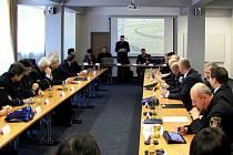Setkání ředitelů městských policií a hostů.
