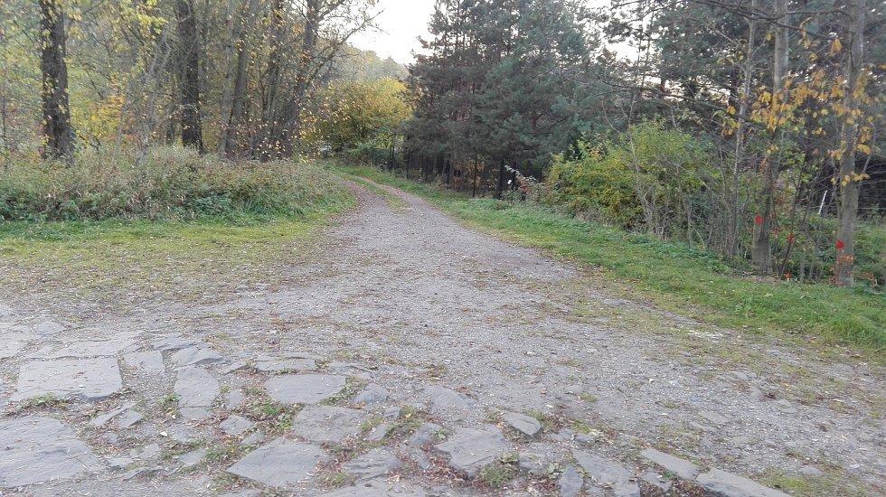 Nová cyklostezka v Havířově, která cyklostezkou není. U splavu na řece Lučině si cyklista může vybrat, kudy pojede. Na vyhrazenou cyklostezku ale nenarazí.