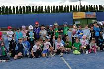 Malí tenisté na přeboru v Havířově.