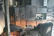 Za požár dvoupokojového bytu v Bohumíně může malá čajová svíčka.