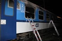 Žhář řádil v bohumínském železničním depu.