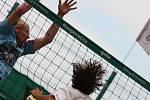 Radegast Open - turnaj plážových volejbalistů a volejbalistek, provázel letos déšť.