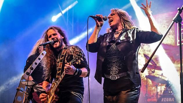 V Orlové se v sobotu konal 12. ročník charitativní hudební přehlídky rockových kapel RockTherapy.