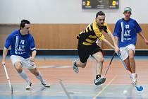 Pavel Kožušník (ve žlutém) a jeho spoluhráči z Havířova si zahrají s Tatranem.