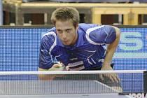 Stolní tenisté Baníku Havířov se radují z dalšího bronzu. V semifinále uhrál při jasné porážce jediný set Baníku Jakub Crha.
