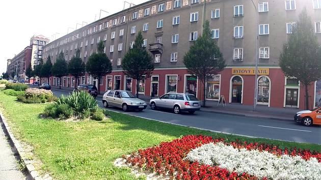 Řidič najel v centru Havířova do protisměru.