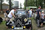Setkání řidičů historických aut a motocyklů v Bohumíně, v sobotu 3. srpna 2019.