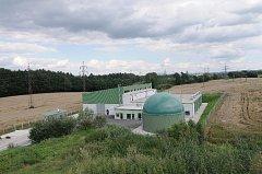 Bioplynová stanice v Horní Suché je jedinou svého druhu v Moravskoslezském kraji.