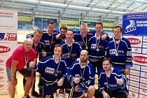 Karvinští in-line hokejisté vyhráli první ligu.