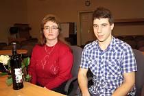 Iveta Cigošová a její syn Petr jsou už roky dobrovolnými dárci krve.