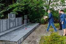 Památku 108 horníků, kteří zahynuli při tragédii na Dole Dukla 7. července 1961, dnes uctili představitelé města Havířova.