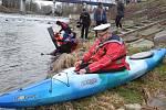 K tradičním akcím vodáckého klubu Posejdon patří také Novoroční sjezdy řeky Olše.