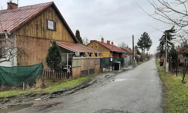 Doubrava. Kolonie finských domků