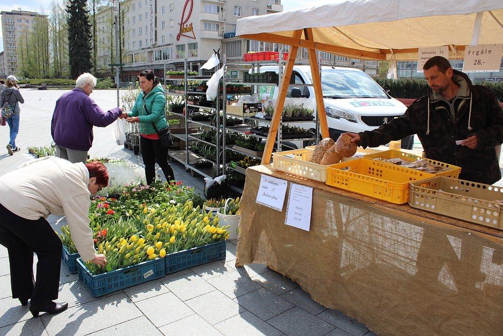 Farmářské trhy v Havířově svou tradici mají.