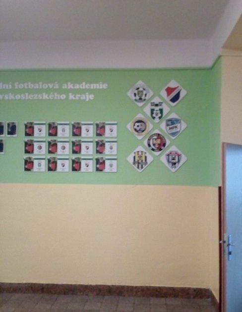 Krajská fotbalová akademie našla na ZŠ Dělnická základnu pro studium.