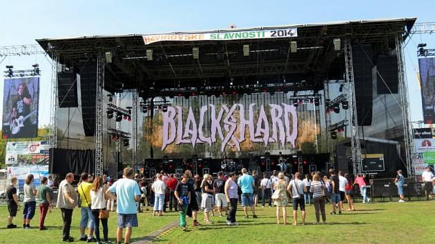 Havířovské slavnosti 2014. Blackshard.