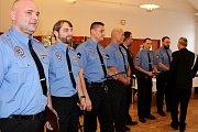 Vedení Havířova a městské policie vyhodnotilo rok 2017 a ocenilo strážníky za dlouholetou službu i za mimořádné zákroky.