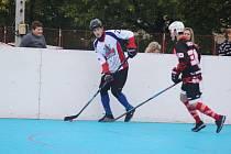 Hokejbalisté doma podlehli Plzni.