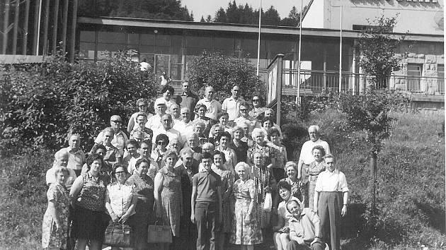 Zájezd členů PZKO Karviná-Fryštát do Ustroně, Wisly a na Čantoryji. v roce 1973.
