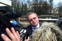 Ministr životního prostředí Tomáš Chalupa.