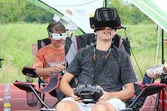1. FPV Drone Racing v Havířově. Piloti v akci.