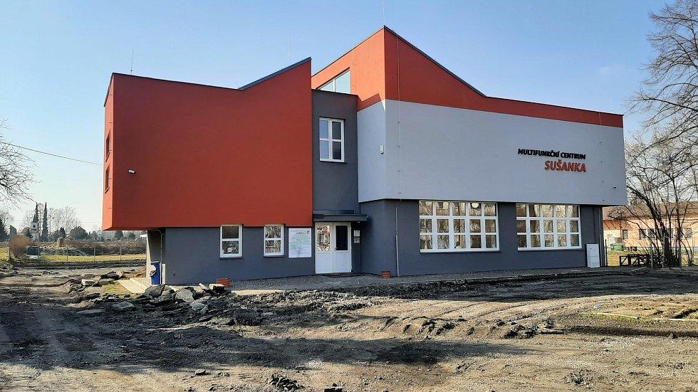 Horní Suchá. Sportovní centrum Sušanka, vzpěračská hala.