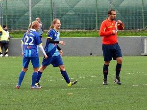 Fotbal: B. Ostrava - Havířov ženy