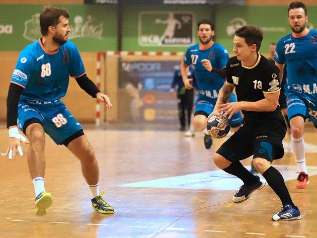 Marek Drzyzga (vpravo) odehrál výborný zápas.